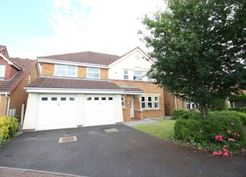 Thumbnail 5 bed detached house for sale in Meadows Reach, Penwortham, Preston