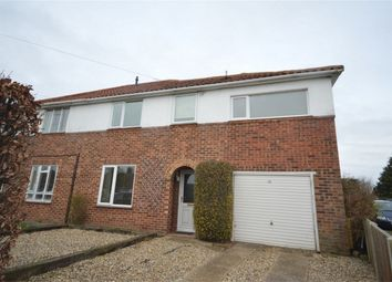 Thumbnail 4 bed semi-detached house for sale in Mountfield Avenue, Hellesdon, Norwich