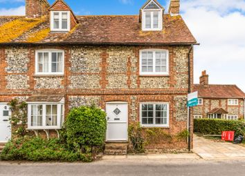 Thumbnail 3 bed cottage to rent in Downs Road, West Stoke, Chichester