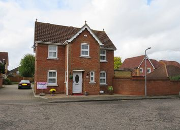 Thumbnail 3 bed detached house for sale in Calshot Avenue, Chafford Hundred