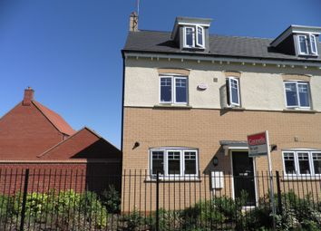Thumbnail 3 bed property to rent in Watson Close, Northampton