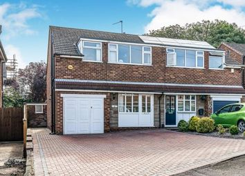 Thumbnail 3 bed semi-detached house for sale in Greenways, Off Chapel House Lane, Halesowen, West Midlands
