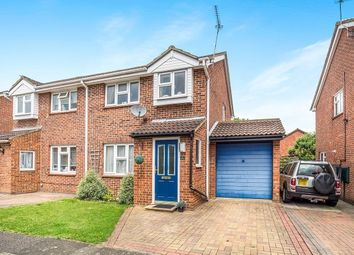 Thumbnail 3 bed semi-detached house for sale in Fowey Close, Lordswood, Chatham