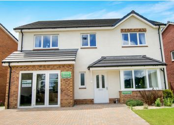 Thumbnail 4 bed detached house for sale in Poplars Drive, Skewen, Neath