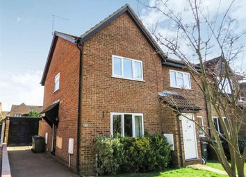 Thumbnail 2 bed end terrace house for sale in Moyne Road, Sawtry, Huntingdon