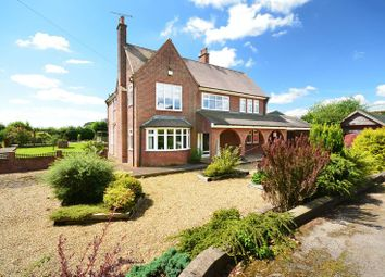 Thumbnail 4 bed detached house for sale in Greenfields, Stafford Road, Knightley, Stafford