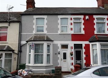 Thumbnail 3 bed terraced house to rent in Hannah Street, Barry