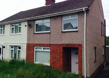 Thumbnail 3 bed semi-detached house to rent in Rhyddwen Road, Craig-Cefn-Parc, Swansea