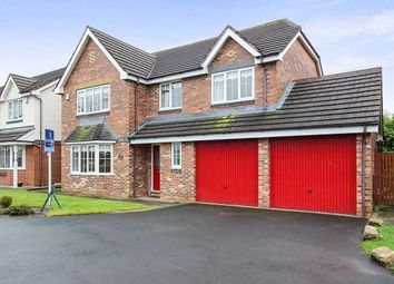 Thumbnail 5 bedroom detached house for sale in Cherry Gardens, Claughton-On-Brock, Preston