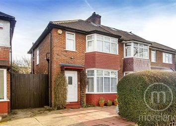 Thumbnail 3 bed semi-detached house for sale in Pennine Drive, Golders Green Estate