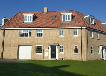 Thumbnail 4 bed town house for sale in The Brooke At The Signals, Norwich Road, Watton