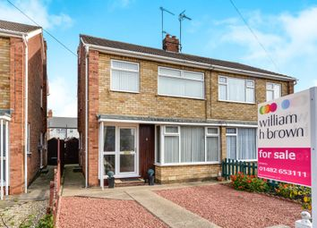 Thumbnail 3 bed semi-detached house for sale in St. Martins Avenue, Hull