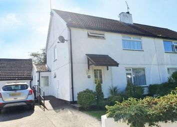 Thumbnail 1 bed flat to rent in Ley Crescent, Liverton, Newton Abbot