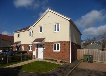 Thumbnail 3 bed semi-detached house to rent in College Court, Queens Square, Attleborough