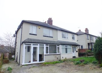 Thumbnail 3 bed semi-detached house for sale in Mount Pleasant Avenue, Leeds, West Yorkshire