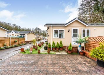 Thumbnail 2 bed mobile/park home for sale in Woodlands Residential Park, Quakers Yard, Treharris