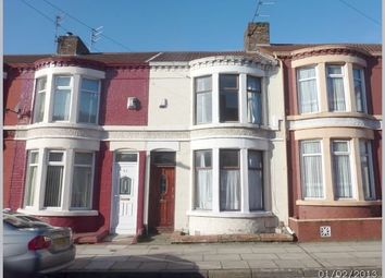 Thumbnail 3 bed terraced house to rent in Eastdale Road, Wavertree, Liverpool