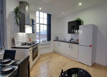 Thumbnail 4 bed flat to rent in Conduit Street, Leicester