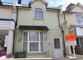 Thumbnail 2 bed maisonette for sale in Torquay Road, Paignton