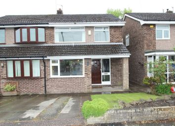 Thumbnail 3 bed semi-detached house for sale in Prestbury Avenue, Altrincham