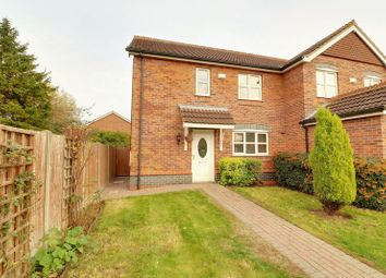 Thumbnail 3 bed semi-detached house for sale in Nursery Close, Barton-Upon-Humber