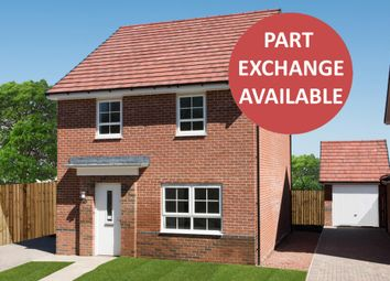 "Thumbnail 4 bedroom detached house for sale in ""Chester"" at Tiber Road, North Hykeham, Lincoln"