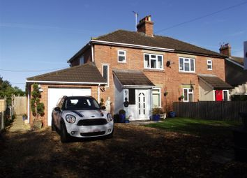 Thumbnail 3 bed semi-detached house for sale in Quemerford, Calne