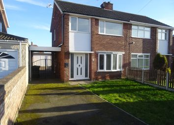 Thumbnail 3 bedroom semi-detached house to rent in Northfield Drive, Woodsetts, Worksop