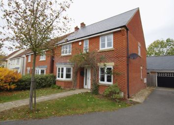Thumbnail 4 bed detached house for sale in Normandy Road, Wroughton, Swindon