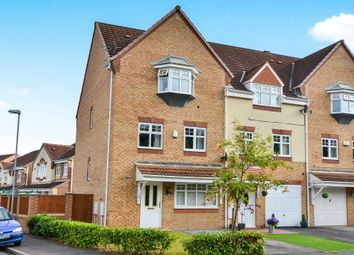 Thumbnail 4 bed town house for sale in Opal Close, Mansfield