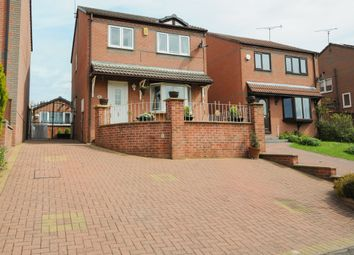 Thumbnail 3 bed detached house for sale in Tansley Road, North Wingfield, Chesterfield