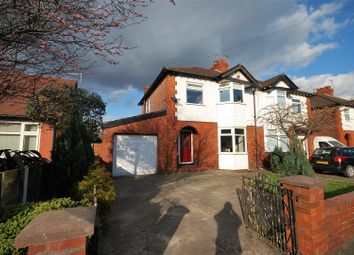 Thumbnail 3 bed semi-detached house for sale in Offerton Lane, Stockport