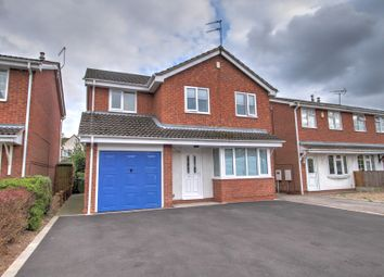 Thumbnail 4 bed detached house for sale in Nightingale Close, Ripley