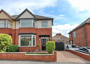 Thumbnail 3 bed semi-detached house for sale in Mount Road, Prestwich, Manchester