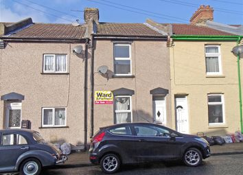 Thumbnail 3 bed terraced house for sale in Springfield Road, Gillingham, Kent