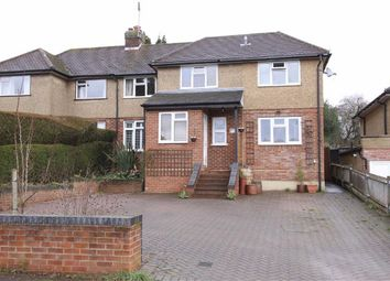 Thumbnail 4 bedroom semi-detached house for sale in Manor Road, Wheathampstead, Hertfordshire