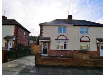 Thumbnail 2 bed semi-detached house for sale in Chillingham Terrace, Jarrow