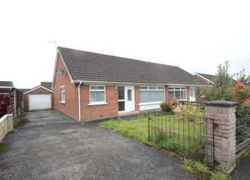 Thumbnail 3 bed semi-detached bungalow for sale in Grange Valley Gardens, Ballyclare