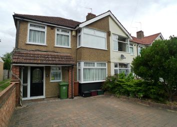 Thumbnail 3 bed end terrace house to rent in Longmeadow Road, Sidcup
