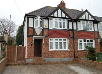 Thumbnail 3 bed semi-detached house for sale in Old Lodge Lane, Purley, Surrey