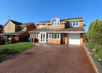 Thumbnail 4 bed detached house to rent in Chichester Drive, Heath Hayes, Cannock