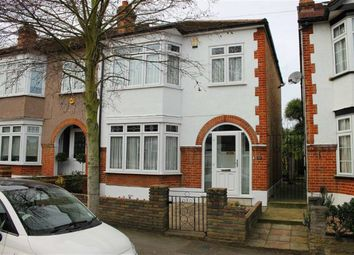 Thumbnail 3 bed end terrace house for sale in Woodville Road, London