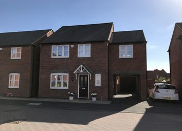 Thumbnail 4 bed detached house for sale in Lewisham Drive, Swadlincote