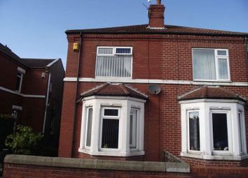 Thumbnail 2 bedroom semi-detached house for sale in Woodhorn Road, Ashington