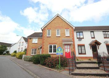 Thumbnail 3 bed terraced house for sale in Alan Avenue, Newton Flotman, Norwich