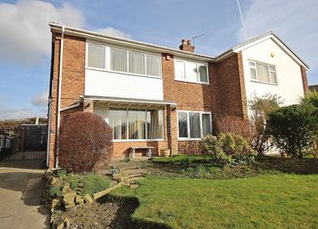 Thumbnail 3 bed semi-detached house for sale in Temple Avenue, Leeds