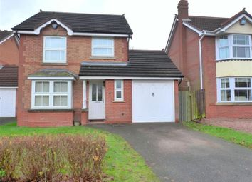 Thumbnail 3 bed detached house to rent in Hartwell Close, Solihull