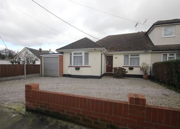 Thumbnail 2 bedroom semi-detached bungalow for sale in Mount Crescent, Hockley