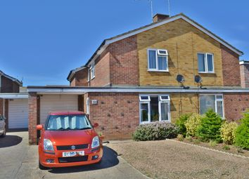 Thumbnail 2 bed semi-detached house for sale in Prestwick Avenue, Felixstowe