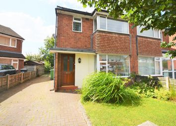 Thumbnail 3 bed semi-detached house to rent in Bollin Close, Culcheth, Warrington